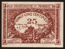 25 centimes, 1920