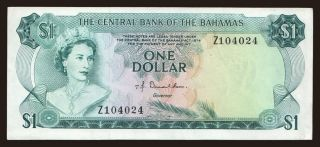 1 dollar, 1974, replacement