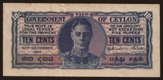 10 cents, 1943