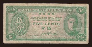 5 cents, 1945