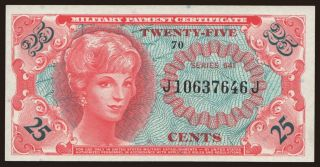 MPC, 25 cents, 1965