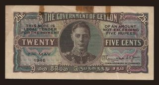 25 cents, 1946
