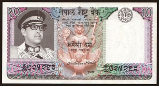 10 rupees, 1974