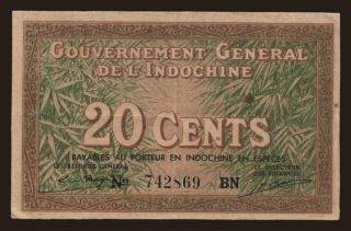 20 cents, 1939